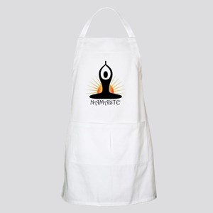 Morning Yoga, Rising Sun, Namaste Apron