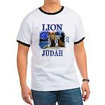 Lion of Judah blue Ringer T