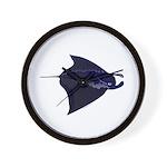 Manta Ray f Wall Clock