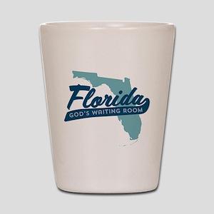 Florida Gods Waiting Room Shot Glass