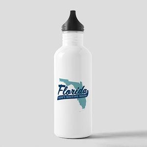 Florida Gods Waiting Room Water Bottle