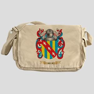 Belk Coat of Arms Messenger Bag