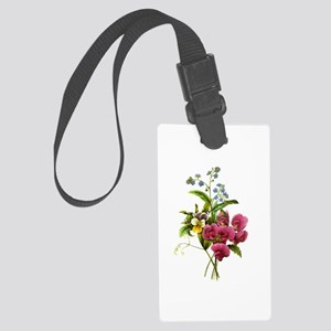 Redoute Bouquet Large Luggage Tag