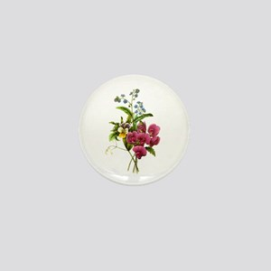 Redoute Bouquet Mini Button