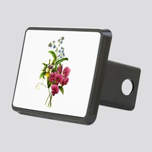 Redoute Bouquet Rectangular Hitch Cover