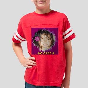 shawnna 10x10 Youth Football Shirt