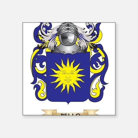 Bello Coat of Arms Sticker