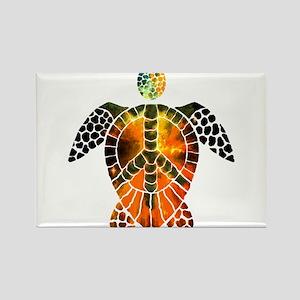 sea turtle-3 Rectangle Magnet