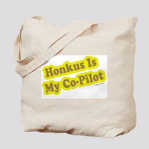 Honkus Is My Co-Pilot Tote Bag