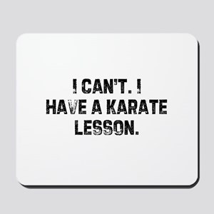 I can't. I have a karate less Mousepad