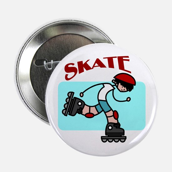 Skater Boy Button