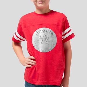 angel-box-silver-grey Youth Football Shirt