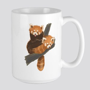 Red Pandas Large Mug
