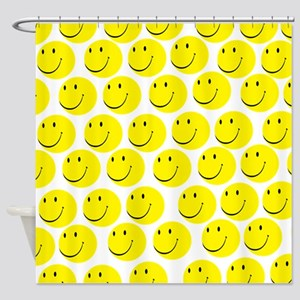 Smiles Shower Curtain