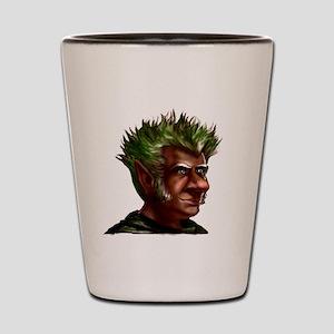 Nature Gnome Shot Glass