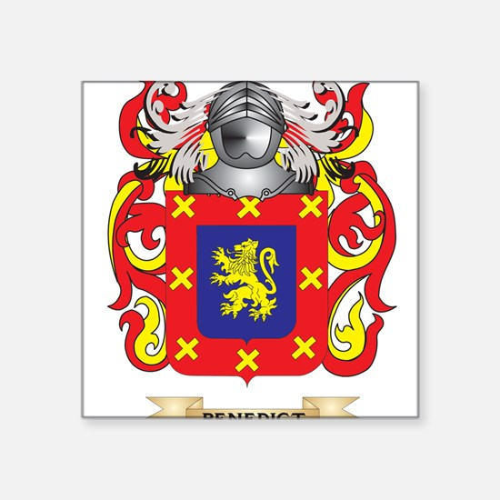 Benedict Coat of Arms Sticker