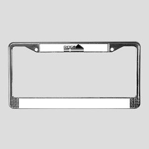Colorado Rider License Plate Frame