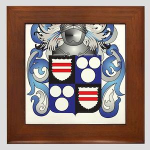 Bennett Coat of Arms Framed Tile