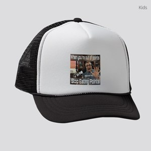 Stop Eating Points Kids Trucker hat