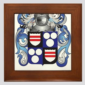 Bennetts Coat of Arms Framed Tile