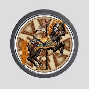 Harvest Moons Plains Pony Wall Clock