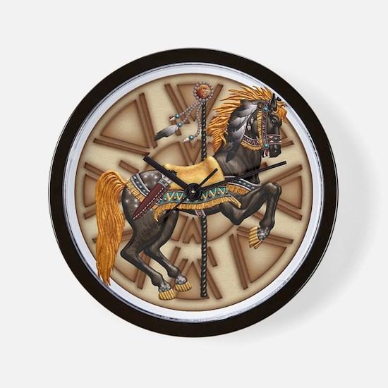 Harvest Moons Plains Pony Wall Clock