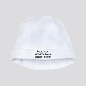 YOUR GIRLFRIEND baby hat
