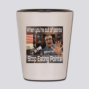 Stop Eating Points Shot Glass