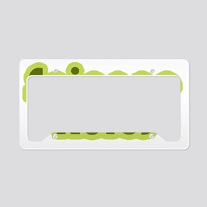 Science rules License Plate Holder