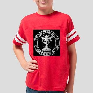 BlackLogo Youth Football Shirt