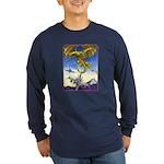 US Naval Aviation Long Sleeve Dark T-Shirt