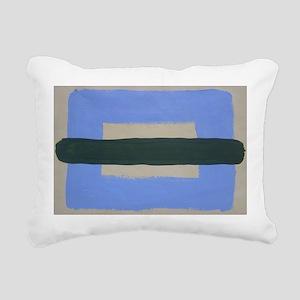 Sea Land I Rectangular Canvas Pillow