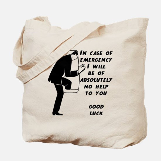 Emergency Assistance Tote Bag