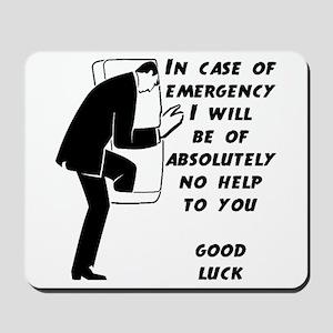Emergency Assistance Mousepad