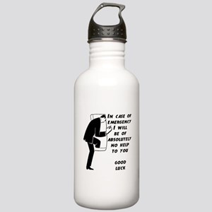 Emergency Assistance Stainless Water Bottle 1.0L