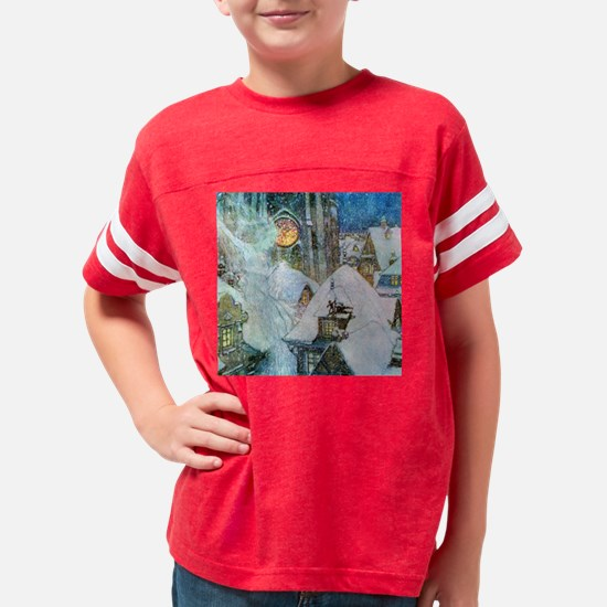 Edmund Dulac: The Snow Queen Youth Football Shirt