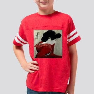 Facing-the-Mirror-Print-I1028 Youth Football Shirt