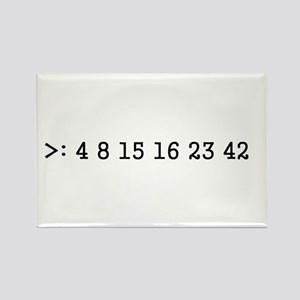 LOST numbers Rectangle Magnet
