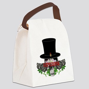 Capricorn Skull Canvas Lunch Bag