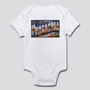 Pensacola Florida Greetings Infant Bodysuit