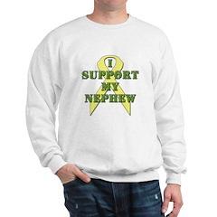 I Support My Nephew Sweatshirt
