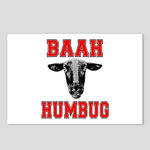Baah Humbug Postcards (Package of 8)