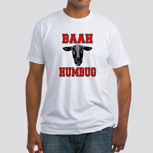 Baah Humbug Fitted T-Shirt