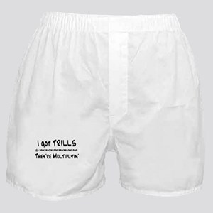 I Got Trills Grease Parody Boxer Shorts