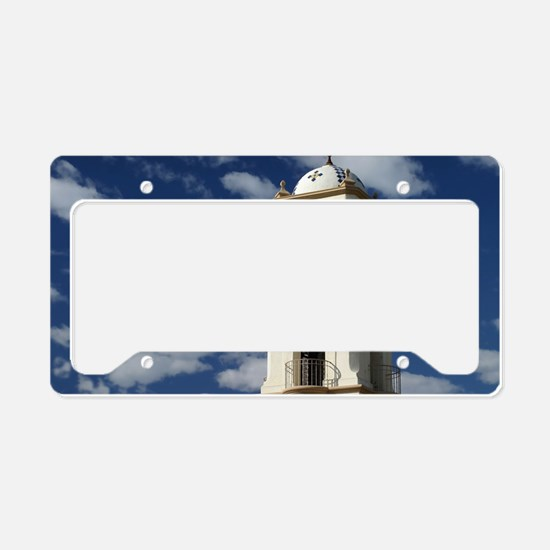 Ojai Tower License Plate Holder