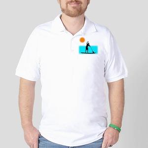 Paddle Boarder Golf Shirt