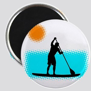 Paddle Boarder Magnet