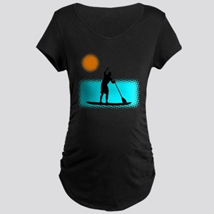 Paddle Boarder Maternity Dark T-Shirt