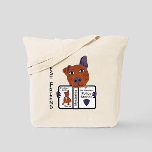 Police Dog Tote Bag