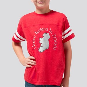 unitewhiteorig Youth Football Shirt